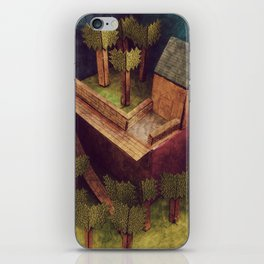 Forest House iPhone Skin