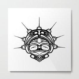 Ink Frog Spirit Metal Print