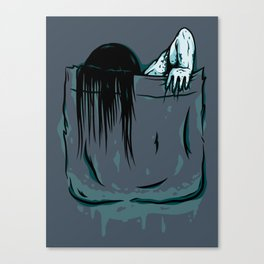 Pocket Samara Canvas Print