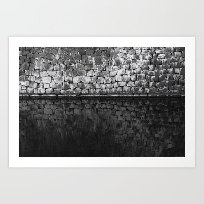 """Wall and Moat"" Art Print"