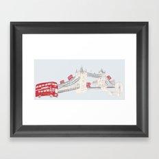 london impression Framed Art Print