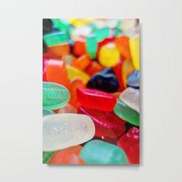Sweets 01 | Wine Gums Metal Print
