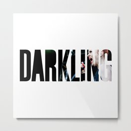 Garbage - 'Darkling' Metal Print