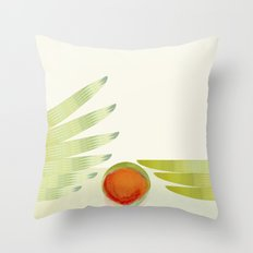 green 2 | digital sessions Throw Pillow