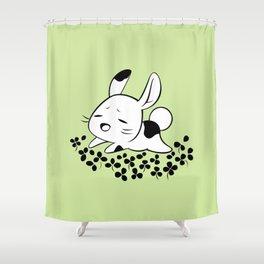 Clover Field Shower Curtain