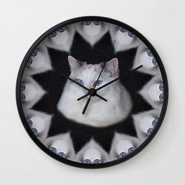 Eyes Ragdoll Wall Clock