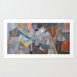 Nisja: the night train 12 Art Print
