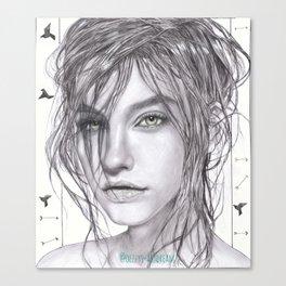 LADY PALVIN Canvas Print