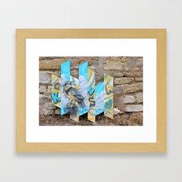 Posted UP! KS Meadowlark Framed Art Print
