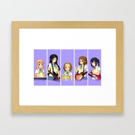 K-on Framed Art Print