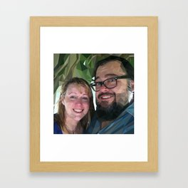 Camilea & John Framed Art Print