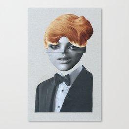 Blondy Canvas Print