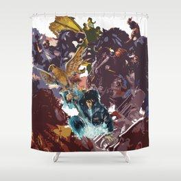Heroes of Olympus Shower Curtain
