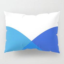 Abstract Blue Pillow Sham