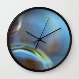 Glass Abstract  - JUSTART © Wall Clock