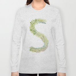 Initial S Long Sleeve T-shirt