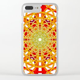 Circles to Oblivion Clear iPhone Case