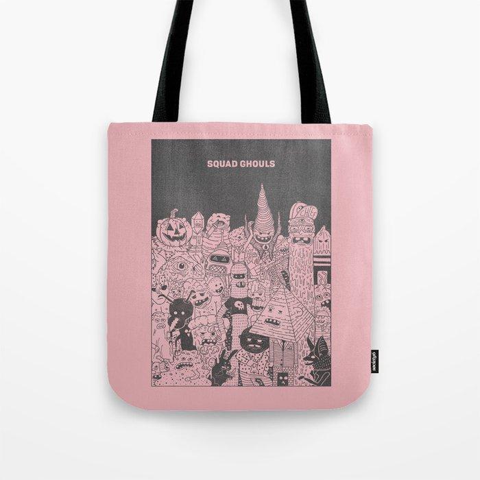 Squad Ghouls Tote Bag