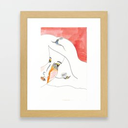Birdbrained Framed Art Print