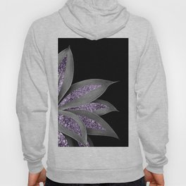 Agave Finesse Glitter Glam #3 #tropical #decor #art #society6 Hoody