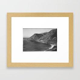 Bixby Creek Bridge - 35MM Framed Art Print