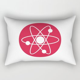 Atom Symbol Rectangular Pillow