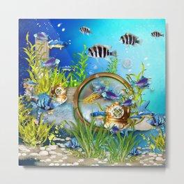 Unterwasserwelt Metal Print
