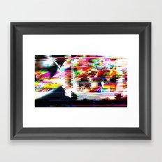 Smokin' Framed Art Print
