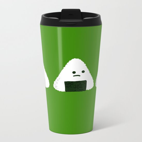 Nude Onigiri Metal Travel Mug
