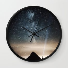 Light and Magic 002 // Shine a Light Wall Clock