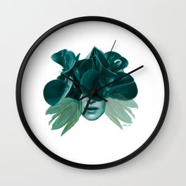 Green Lady, la vie Wall Clock