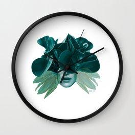 Green Lady, la vie Wall Clock