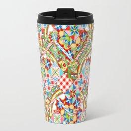 Design Confections Pattern on Pattern II Travel Mug