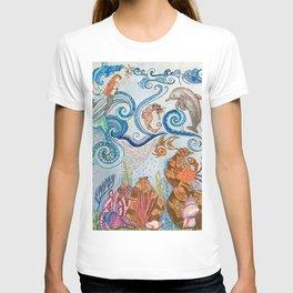 Ocean Zentangle T-shirt