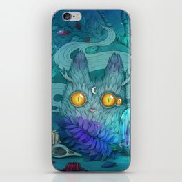 Night of witchcraft iPhone Skin