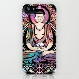 Cosmic Gautama Buddha iPhone Case