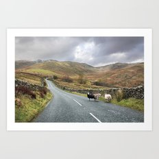 Hitchhikers Art Print