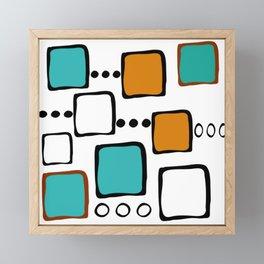 Mid-Century Modern Art 1.6 Framed Mini Art Print