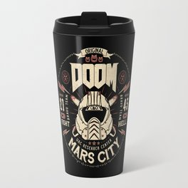 Doom - Fight Hell Travel Mug