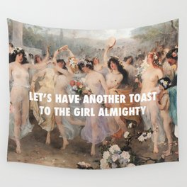 Floralia | Girl Almighty Wall Tapestry
