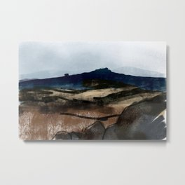 Hathersage Moor, Peak District Metal Print