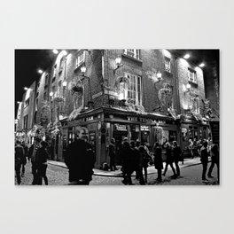 The Temple Bar, Dublin Ireland Canvas Print