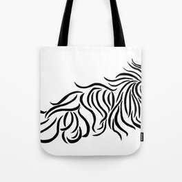 Komondor Tribal Tote Bag