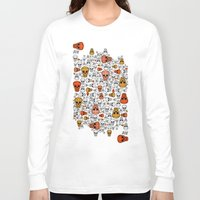 halloween Long Sleeve T-shirts featuring halloween by mark ashkenazi