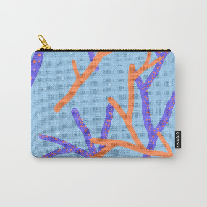 Corals Carry-All Pouch