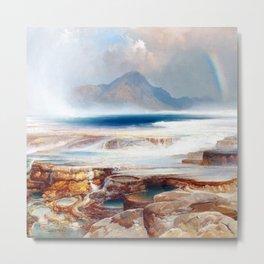 Thomas Moran Hot Springs of Yellowstone Metal Print