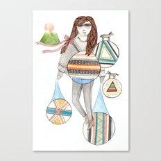 Patterns/Circles Canvas Print