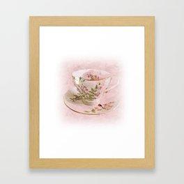 Butter Cup Framed Art Print