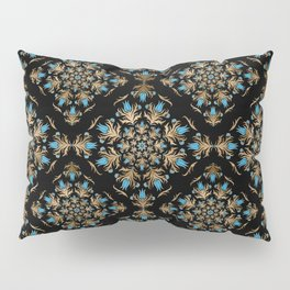 Turkish tulip - Ottoman tile pattern 14 Pillow Sham