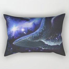 The Song of Floating Angels Rectangular Pillow